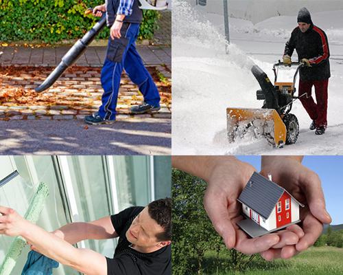 Objektbetreuung Speyer, Gartenarbeiten,Laub entfernen, Winterdienst, Schnee räumen, Reparaturen Sanitär Elektro Heizung Lüftung,Renovierung, Malerarbeiten
