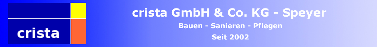 christa bau GmbH Bauunternehmung Speyer am Rhein